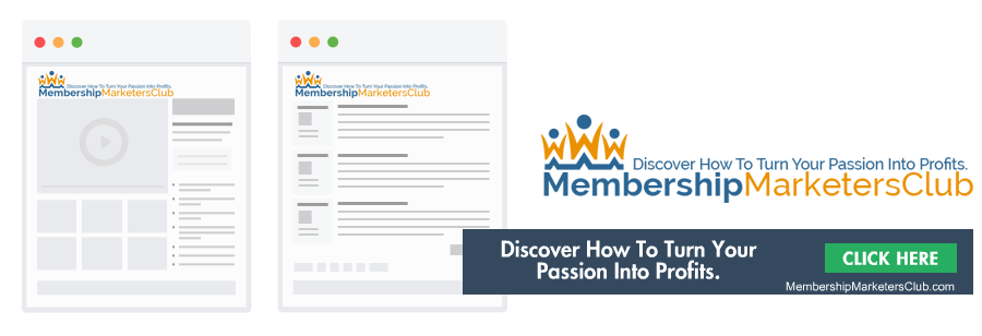 Passive Income with Membership Marketers Club