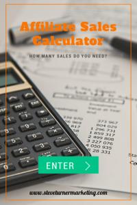Affiliate Sales Calculator