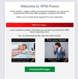 Rapid Profit Machine Promo Materials